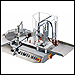 Semi-automatic filling and capping bottle handling - FF30